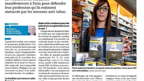 Article dans la République des Pyrénées
